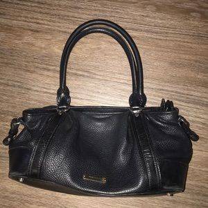 Burberry black shoulder bag vintage
